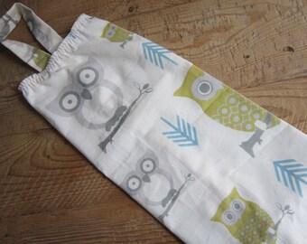 Plastic Bag Holder - Grocery Bag Holder & Dispenser - Hoot Owls