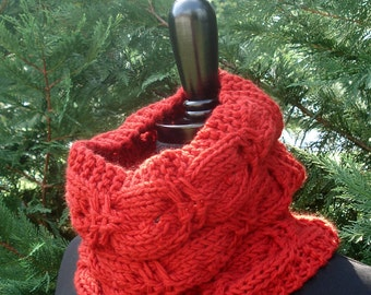 Cuddly Cashmere Cowl - Knitting Pattern