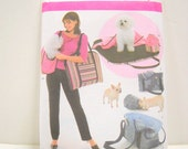 Small Dog Carrier Pattern, Un Cut,  Dog Carrier and Accessories, Sewing Notions, Simplicity 4716