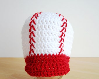 Kids Baseball Cap, crochet baseball hat, crochet hat with brim, boy baseball hat, 5t to preteen size available