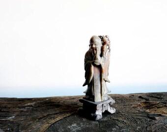 Antique Asian Buddha Sculpture