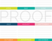 Special Dates Printable - INSTANT DOWNLOAD