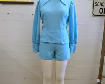 1960s Shirt and Shorts Set