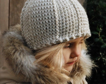 CROCHET PATTERN-Isolynn Hat (Toddler, Child, Adult sizes)