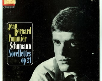 Jean Bernard Pommier Playing Schumann: Novellettes Op 21 Brilliant Solo Piano Performances Pathe Marconi / Emi Odeon Vintage Vinyl LP Record
