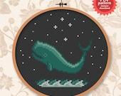 Whale of a time - PDF cross stitch pattern