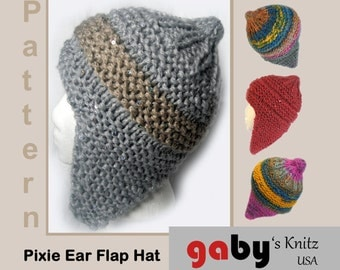 Pixie Ear Flap Hat Pattern