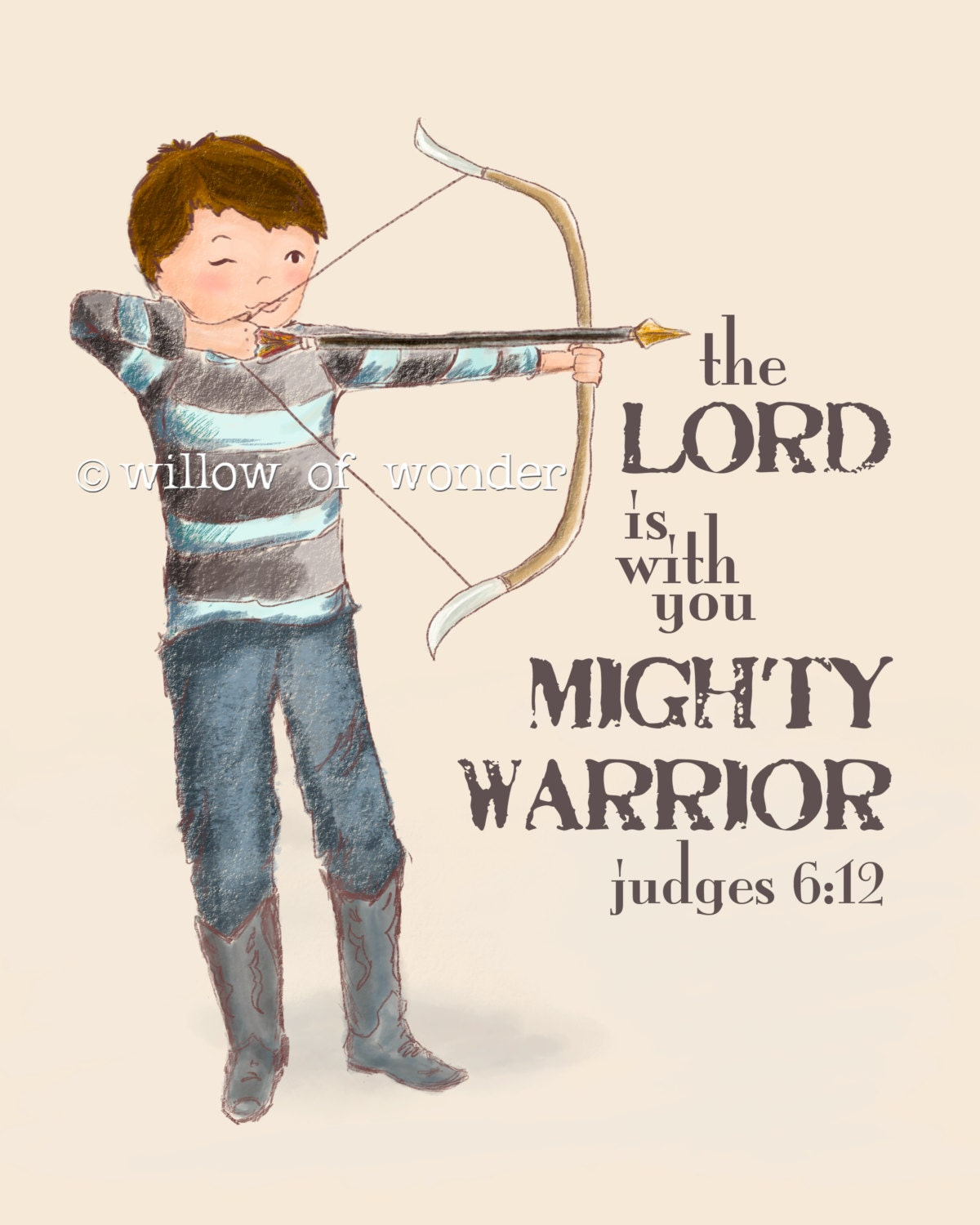 Mighty Warriors In The Bible: Archery Boy
