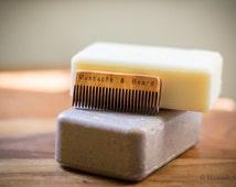 Wood Mustache & Beard Comb
