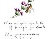 Blessing Series Greeting Card: Desert Life