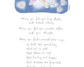 11x14 Print: Bright Star Blessing
