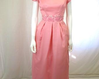 1960s Pink and Rose Milgrim Dress