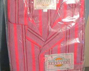 Men's Vintage Never Worn Flannel Pajamas Large #258