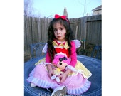 Pageant OOC Lalaloopsy Birthday Dress casual wear Natural wear Halloween Boutique Couture Custom 12m - 10 yrs BelginBoutique.com