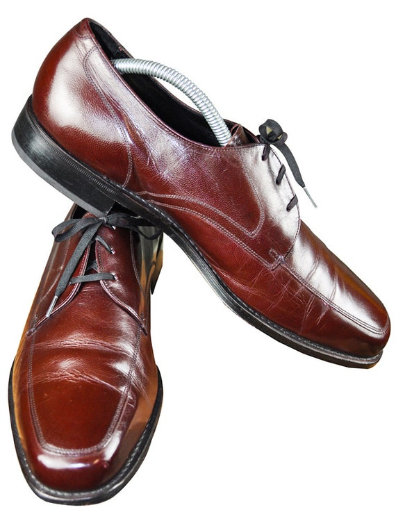 florsheim oxblood lace up s oxford dress shoes size