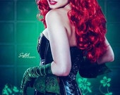 8x12 Poison Ivy Inspired Photo Print (Traci Hines)