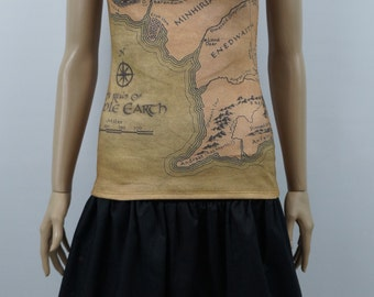Middle Earth Tank Top - Lord of the Rings - Made to Order