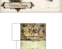 Halloween Favor Bag treats skull instant download printable image digital collage sheet VD0138
