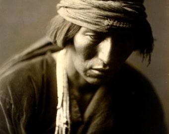 Hastobiga, a Navajo Medicine Man , 8x10 Print