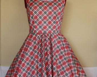 Jukebox Swing Dress - Custom Made