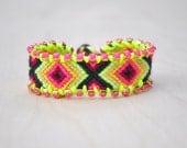 Color Pop Friendship Bracelet- Citrus Burst