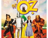 The Wizard of Oz - Home Theater Decor - Movie Musical Poster Print  13x19 - Classic Movie Poster - Judy Garland