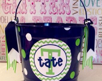 Easter  Bucket/ Basket - Personalized10 Quart