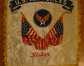 US Air Force World War 2 Pillow Top