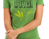 Woman's Shirt, Gluten The New Al Qaeda, Funny T-Shirt, Woman's T-Shirt, Gluten, Gluten Free