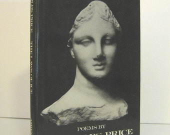 Reynolds Price, The Laws of Ice, Signed First Edition, Vintage Book of Poetry, Poems by Reynolds Price