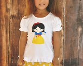 Girls Snow White Outfit - Disney Outfit - My first Disney Trip -