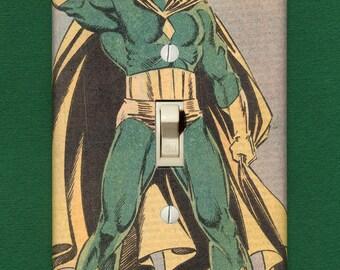 Vision - Superhero Light Switch Plate
