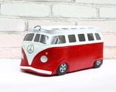 Volkswagen Bag Leather VW Bus Purse