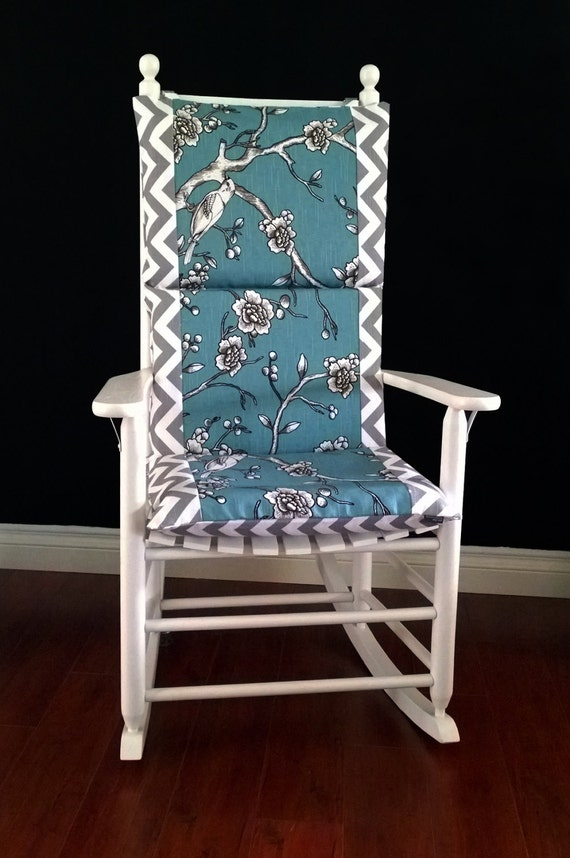 rocking chair cushion cover dwell studio vintage blossom
