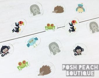 DIY Iron-on Appliques (4) - Mini Whimsical Animals