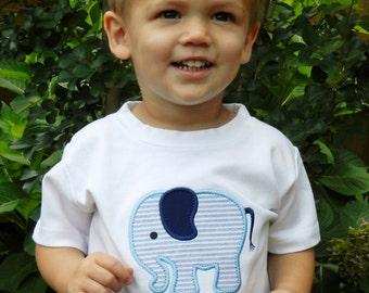 Personalized Elephant Shirt or Bodysuit