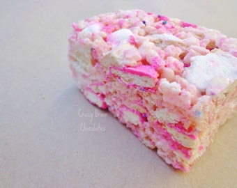 Circus Animal Cookies Rice Krispie Treats (12)