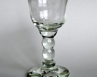 Discounted Seconds-Hand Blown Glass-Goblet