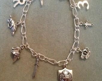 King Richard III of England Handmade Charm Bracelet