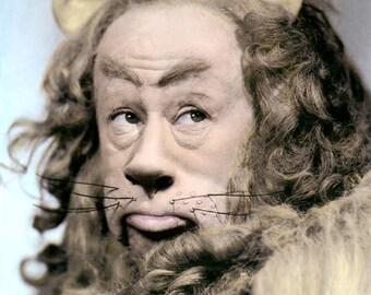 bert lahr cowardly lion costume