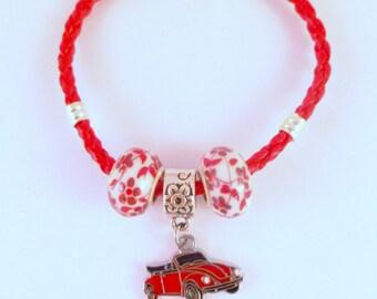 VW Convertible Beetle Bracelet