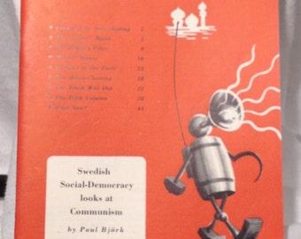 Vintage Democratic Socialism Ephemera Sweden Remote Control by Paul Bjork