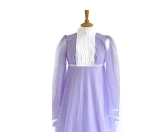 Vintage Maxi Dress, Vintage Dress, 70s Dress, Boho Dress, Costume Party Dress, Festival Dress