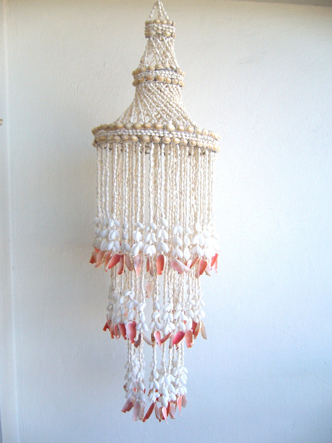 Seashell Chandelier Windchime Seashell Hanging Bold