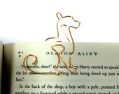 Gold Cat Bookmark Paperclip