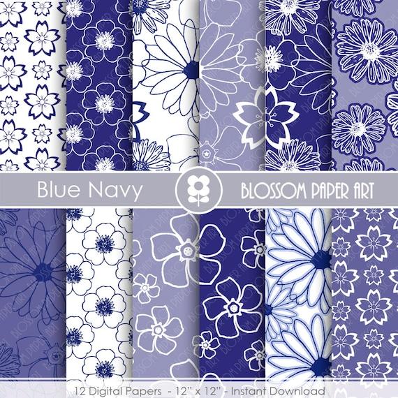 Papeles decorativos azul marino papeles decorativos para - Papeles decorativos pared ...