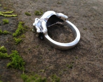 Happy Baby Hippo Ring