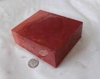 Catlinite Stone for Carving, Sacred Minnesota Pipestone 5N