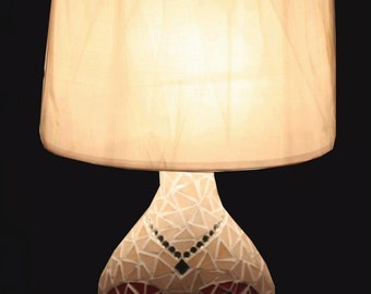 Madame mosaic table lamp