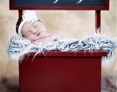 Kissing Booth Newborn Photography Prop